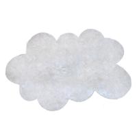 Tapis Nuage poils courts - Blanc