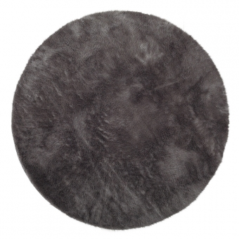 Tapis Rond - Anthracite