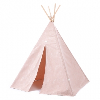 tipi enfants phoenix bubble elements vieux rose nobodinoz pour chambre enfant les enfants du. Black Bedroom Furniture Sets. Home Design Ideas