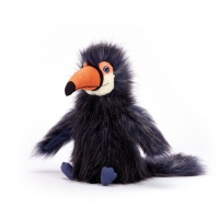 Peluche Tony le toucan - Gris anthracite
