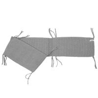 Tour de lit en tricot - Gris