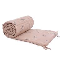 Tour de lit bébé secrets Elements - Vieux rose