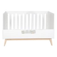 Barrière pour lit bébé canapé Trendy 70 x 140 - Blanc