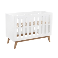 Lit bébé canapé Trendy 60 x 120 - Blanc