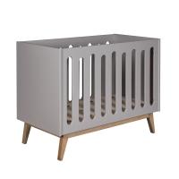 Lit bébé canapé Trendy 60 x 120 - Griffin grey