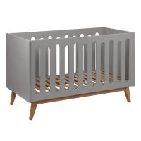 Lit bébé canapé Trendy 70 x 140 - Griffin grey