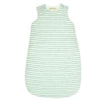Turbulette bébé lin - Rayure tricolore