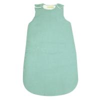 Turbulette bébé lin - Vert d'eau