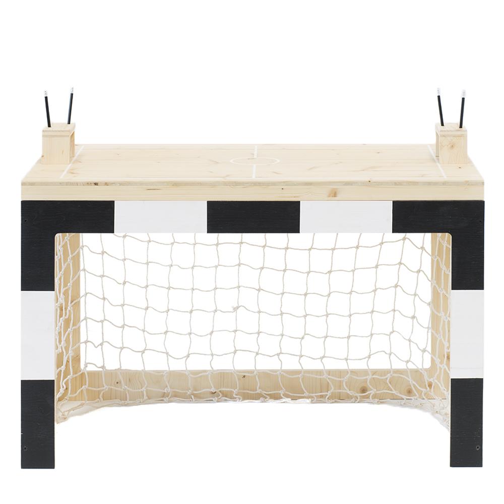 bureau cage de foot jan noir xo in my room pour chambre enfant les enfants du design. Black Bedroom Furniture Sets. Home Design Ideas
