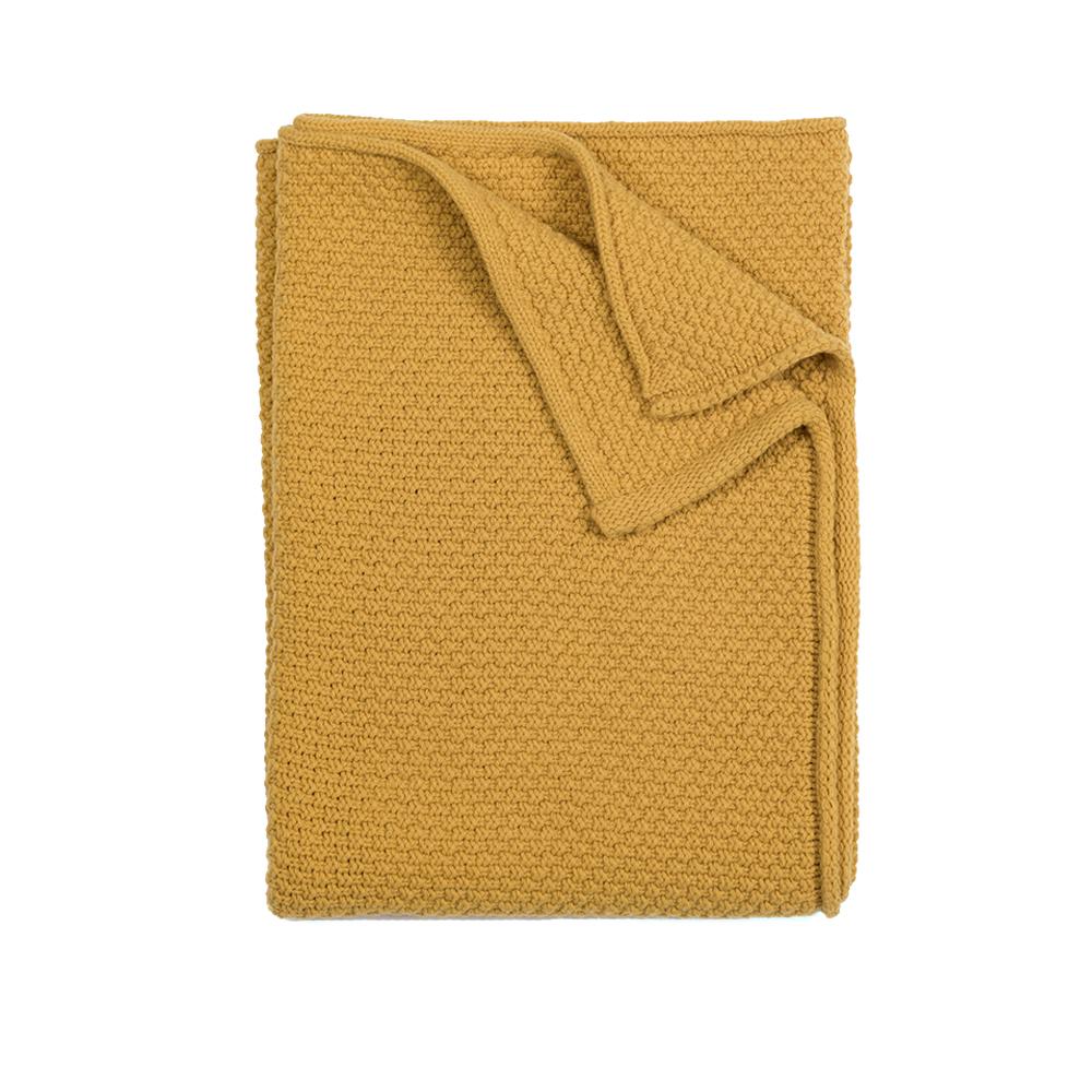 plaid b b tricot miel linge particulier pour chambre enfant les enfants du design. Black Bedroom Furniture Sets. Home Design Ideas