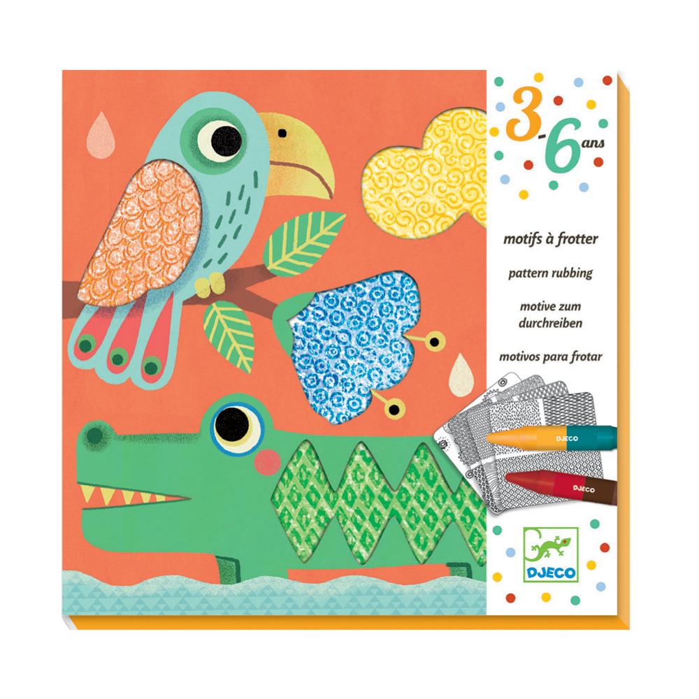 Motif frotter les amis de magali djeco pour chambre enfant les enfants du design - Les enfants du design ...