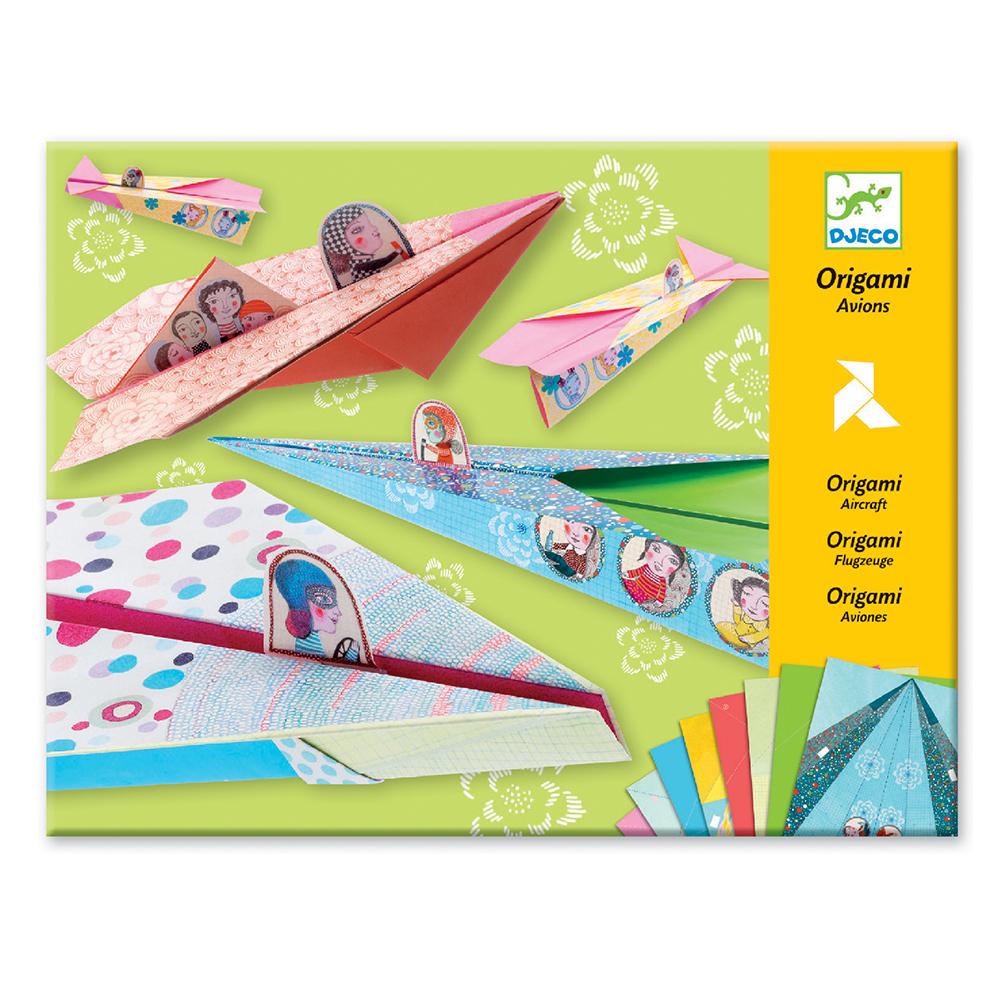 Kit origami les coucous coquets djeco pour chambre enfant for Les enfants design