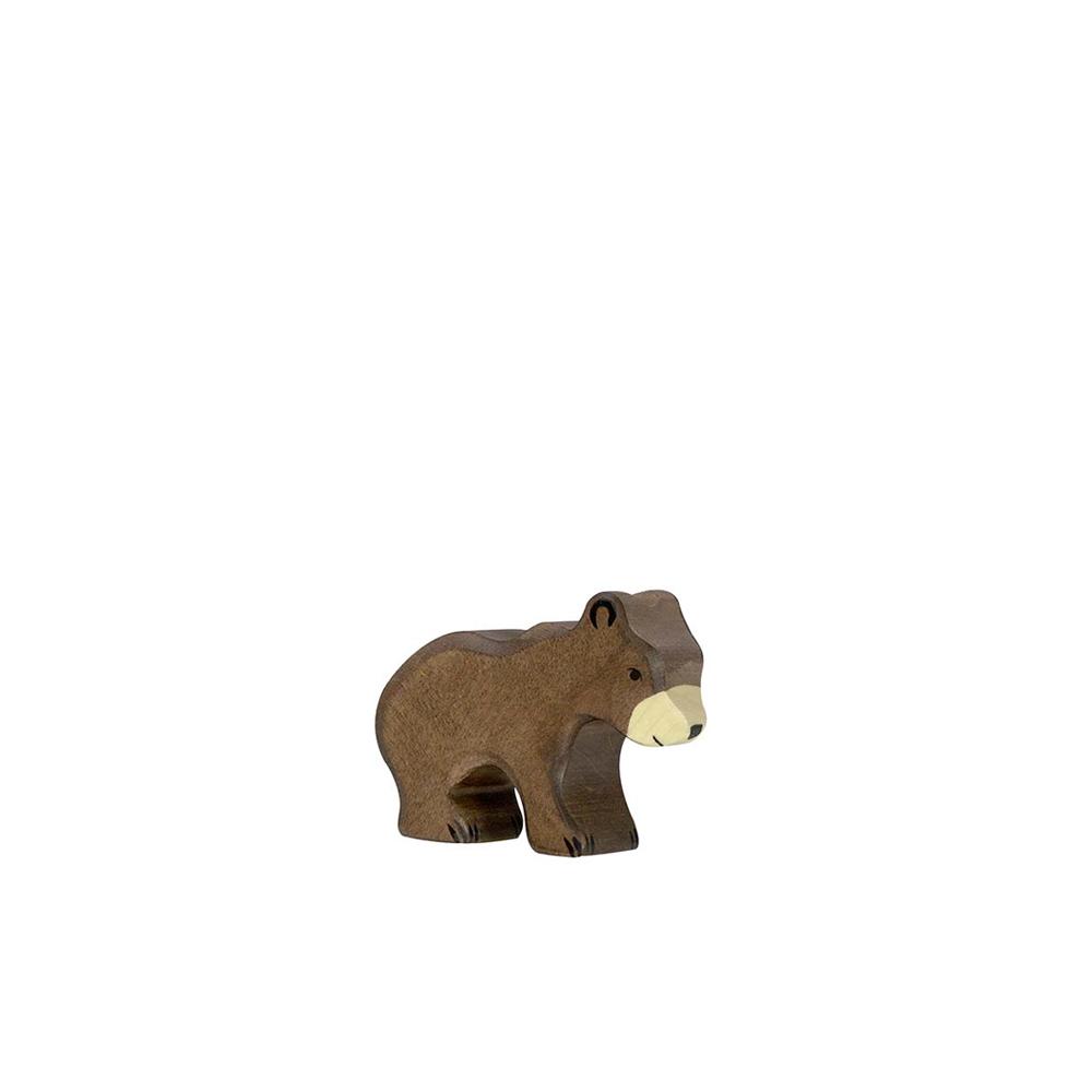 petit ours brun holztiger pour chambre enfant les. Black Bedroom Furniture Sets. Home Design Ideas