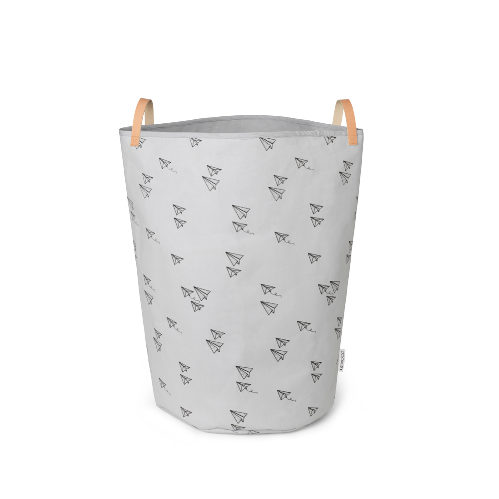 panier de rangement avion ann gris l phant liewood pour. Black Bedroom Furniture Sets. Home Design Ideas