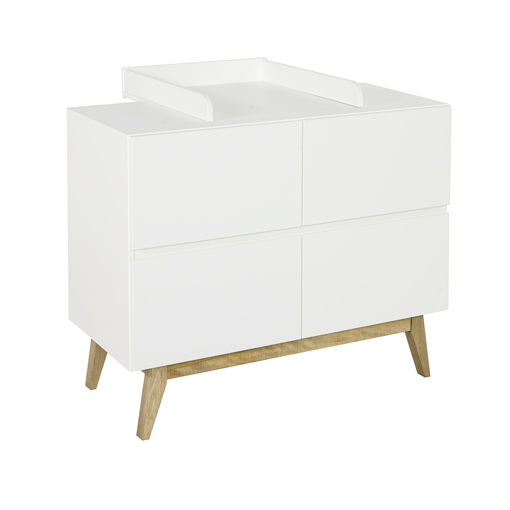 Plan langer extension de commode trendy blanc quax - Plan a langer adaptable toute commode ...