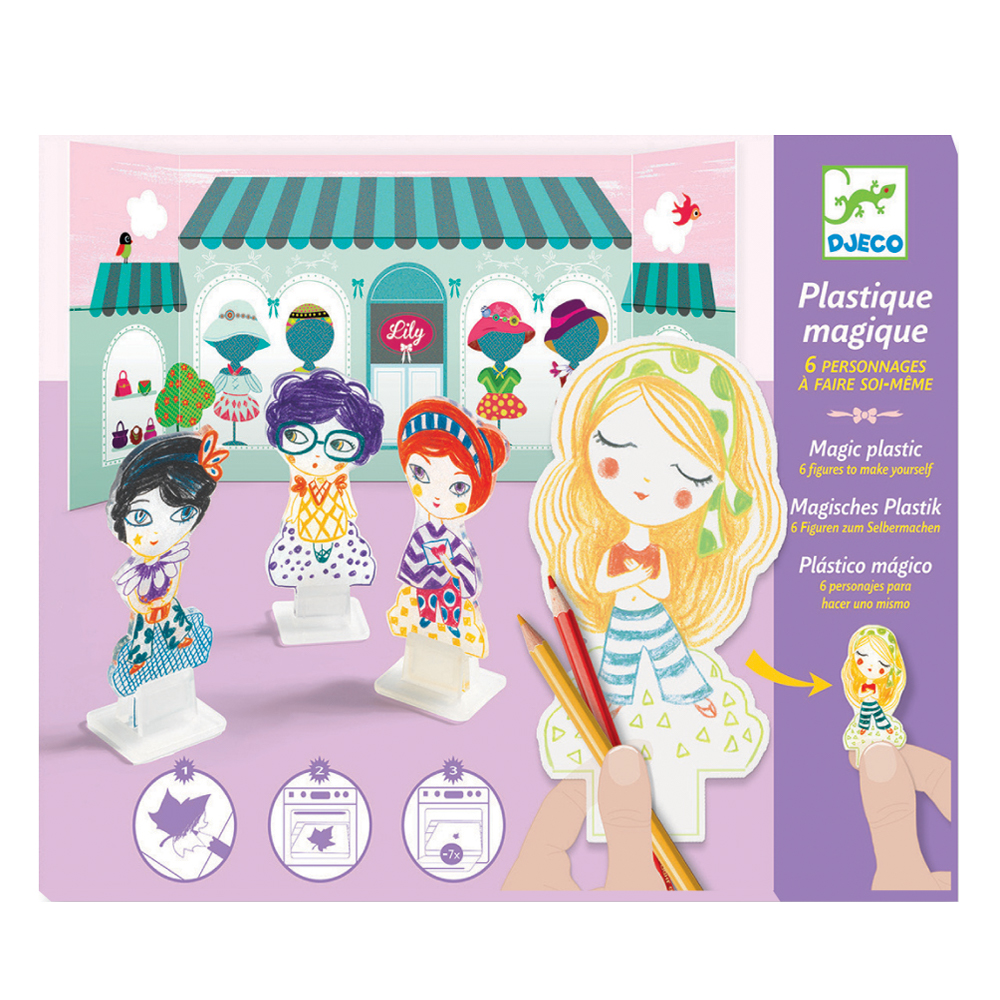 Plastique magique chez lily djeco pour chambre enfant les enfants du design - Les enfants du design ...