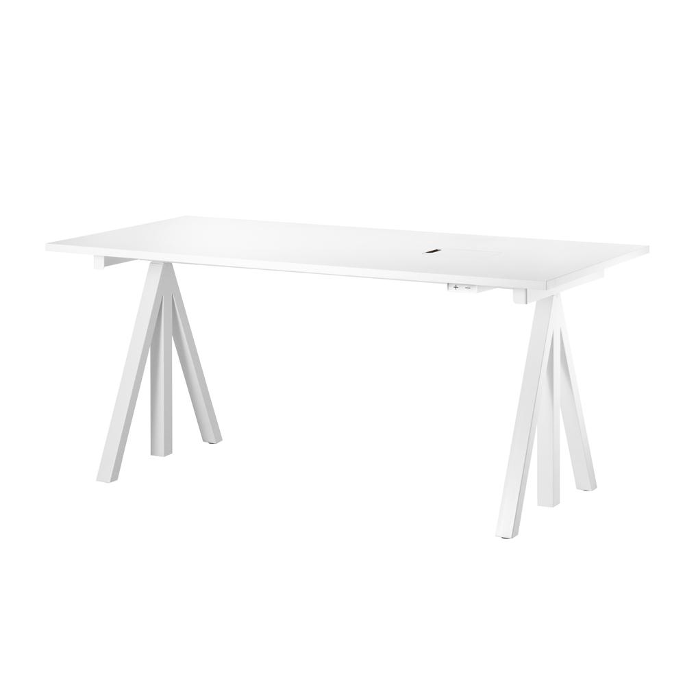plateau bureau pour pi tement blanc string pour chambre enfant les enfants du design. Black Bedroom Furniture Sets. Home Design Ideas