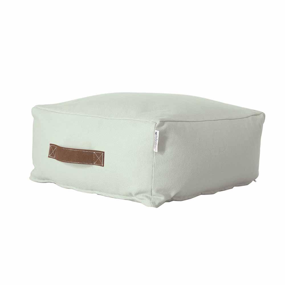 pouf kasbah pure line mint nobodinoz pour chambre enfant les enfants du design. Black Bedroom Furniture Sets. Home Design Ideas