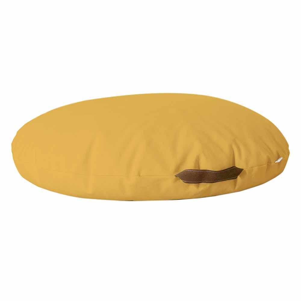 pouf sahara jaune or nobodinoz pour chambre enfant les enfants du design. Black Bedroom Furniture Sets. Home Design Ideas