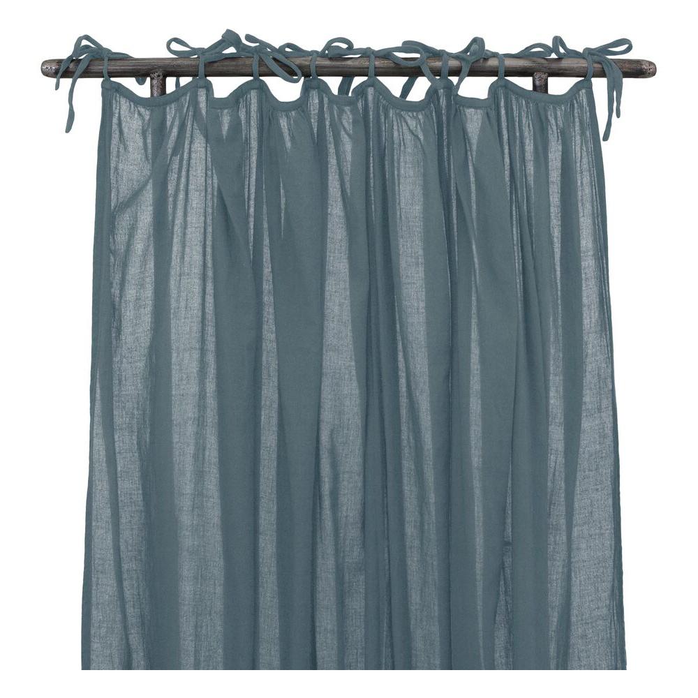 rideau fin fronc bleu gris num ro 74 pour chambre enfant les enfants du design. Black Bedroom Furniture Sets. Home Design Ideas