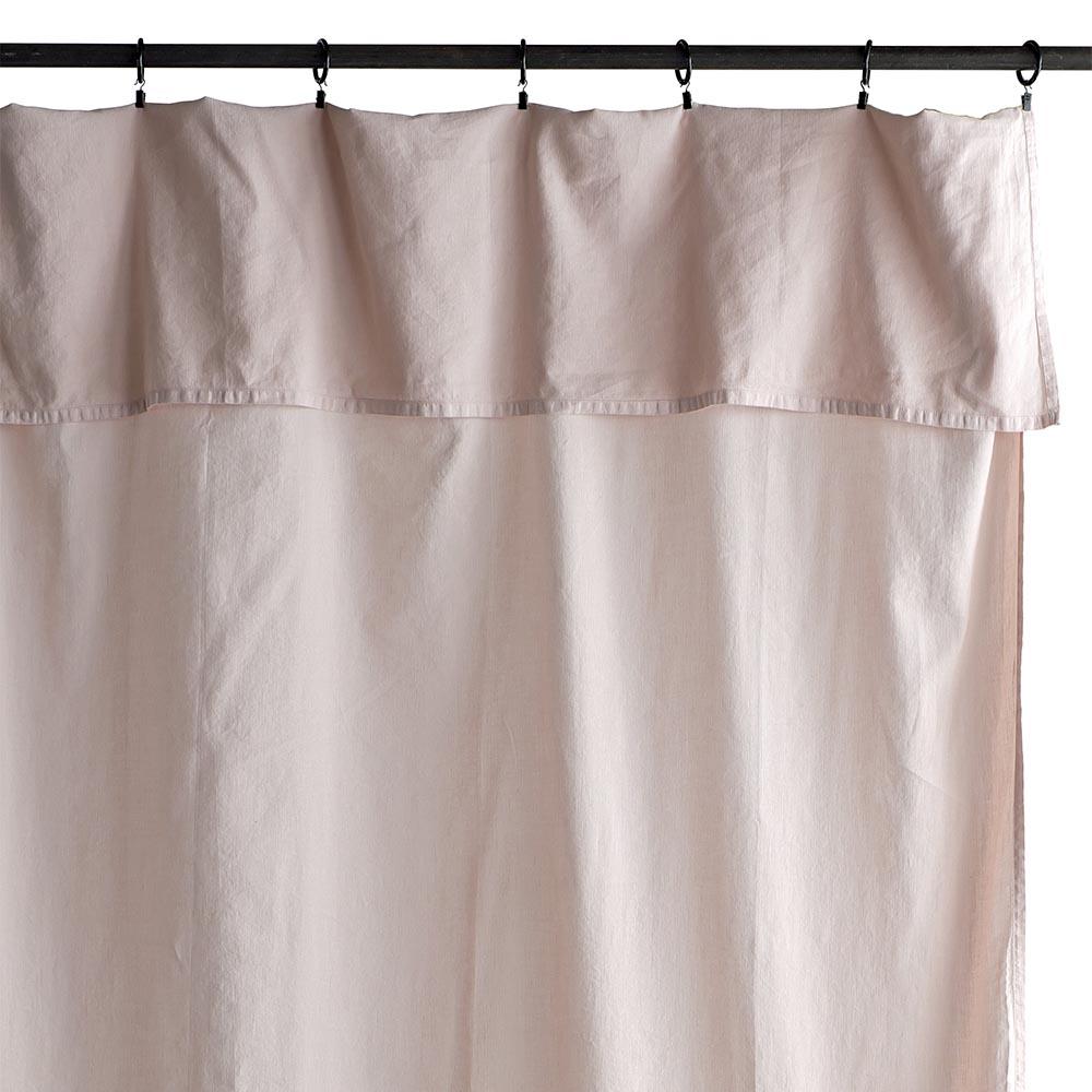 rideau lina rose poudr la cerise sur le g teau pour. Black Bedroom Furniture Sets. Home Design Ideas