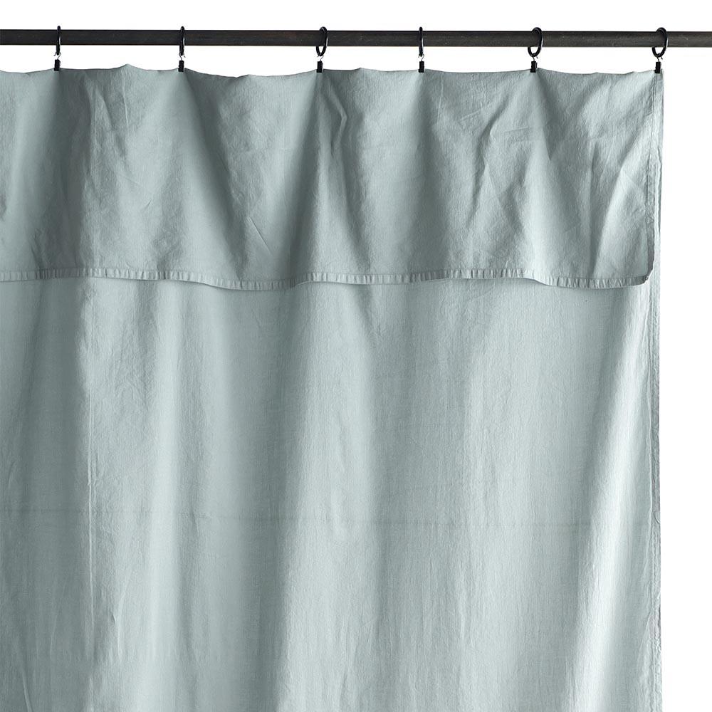 rideau lina bleu air la cerise sur le g teau pour. Black Bedroom Furniture Sets. Home Design Ideas