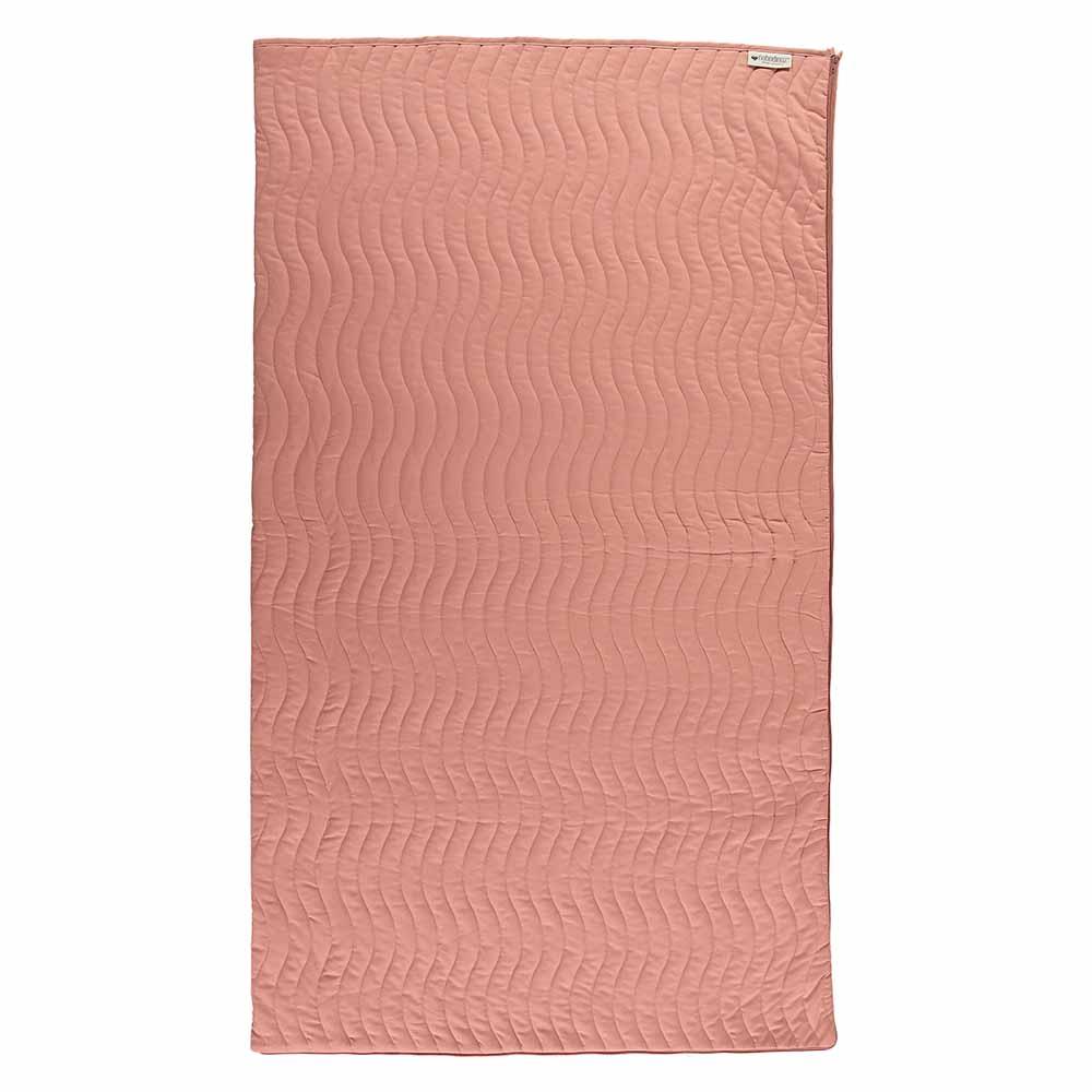 sac de couchage junior caravan saumon nobodinoz pour. Black Bedroom Furniture Sets. Home Design Ideas