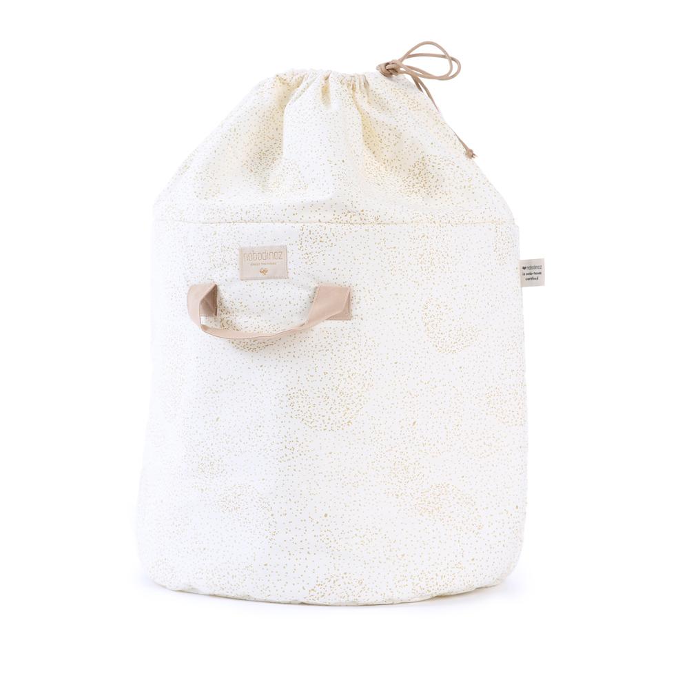 sac de rangement bamboo l bubble elements blanc nobodinoz pour chambre enfant les enfants du. Black Bedroom Furniture Sets. Home Design Ideas