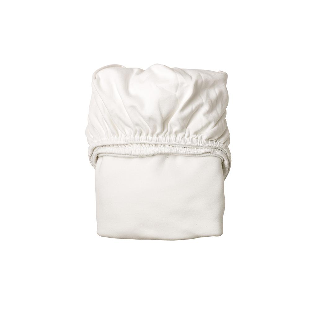 lot de 2 draps housses pour berceau leander blanc