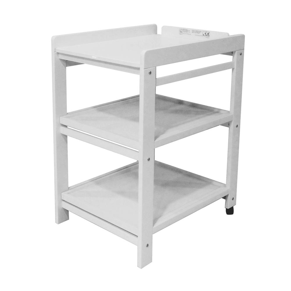 Table langer comfort avec roues nebbia quax pour - Table a langer design ...
