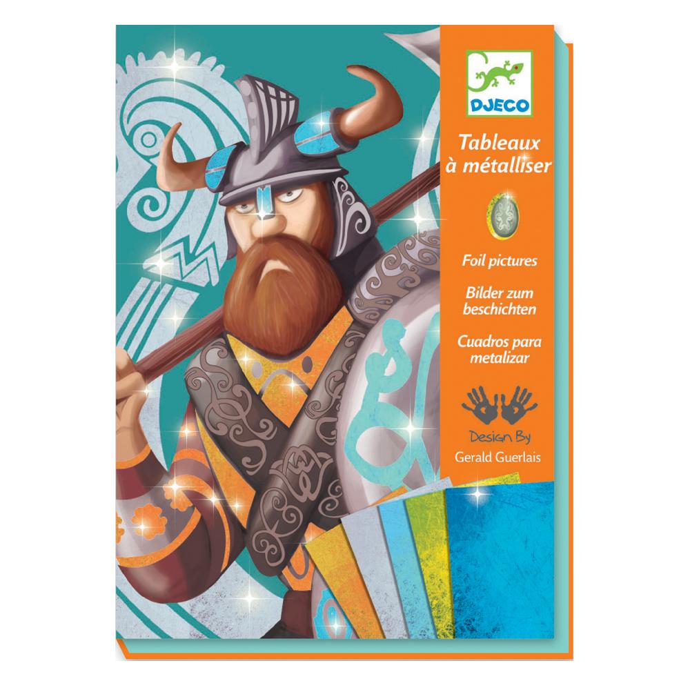 Tableaux Metal Les Vikings Djeco Pour Chambre Enfant