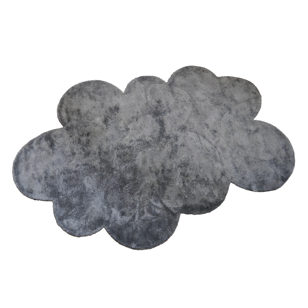 tapis nuage poils courts anthracite pilepoil pour chambre enfant les enfants du design. Black Bedroom Furniture Sets. Home Design Ideas