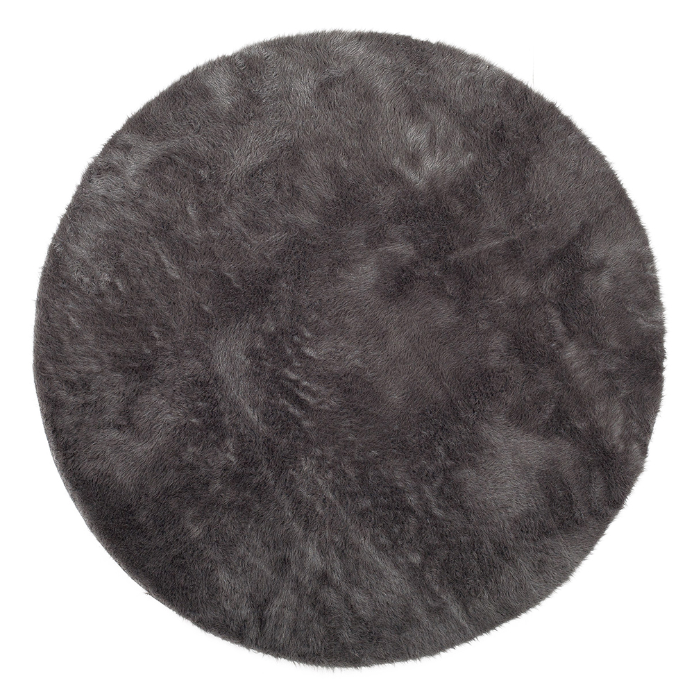 tapis rond anthracite pilepoil pour chambre enfant les enfants du design. Black Bedroom Furniture Sets. Home Design Ideas