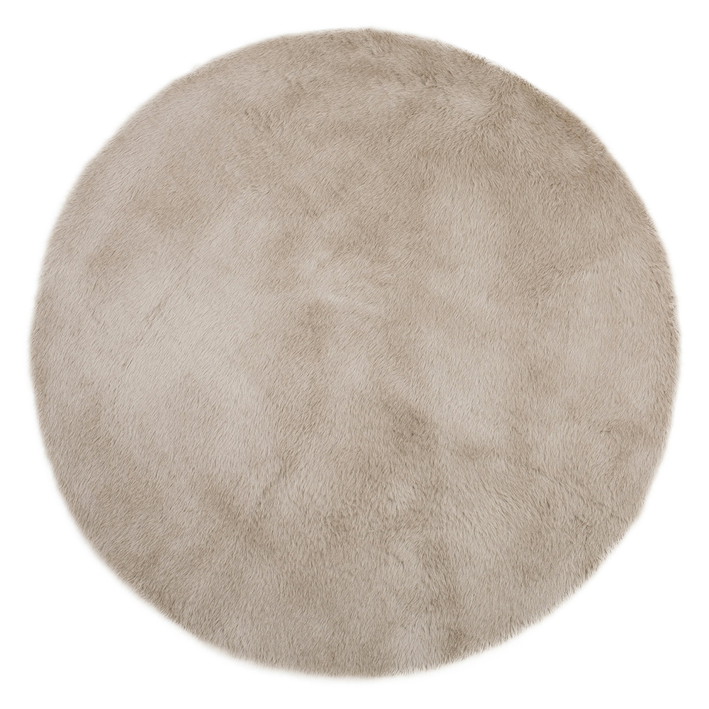 tapis rond gris taupe pilepoil pour chambre enfant les. Black Bedroom Furniture Sets. Home Design Ideas