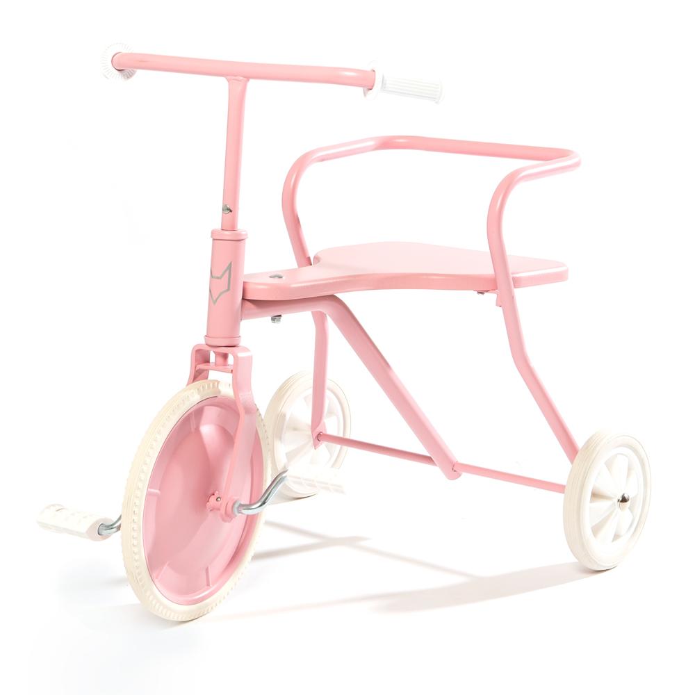 tricycle enfant rose poudr foxrider pour chambre enfant les enfants du design. Black Bedroom Furniture Sets. Home Design Ideas